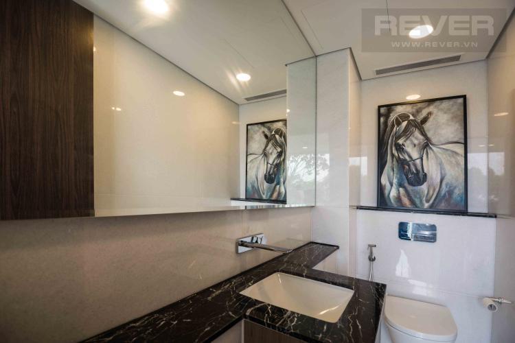 Toilet 1 Cho thuê căn hộ duplex Serenity Sky Villas 2PN, tầng trung, diện tích 123m2, đầy đủ nội thất