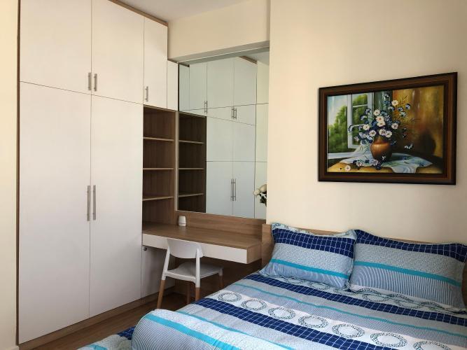 Phòng ngủ M-One Nam Sài Gòn, Quận 7 Căn hộ M-One Nam Sài Gòn hướng Bắc, view thành phố.