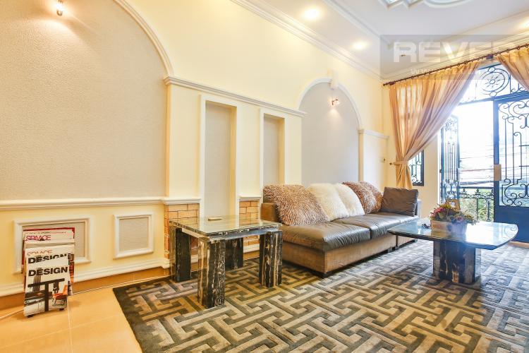 Phòng khách Nhà phố đường số 9 thiết kế đẹp, nội thất sang trọng