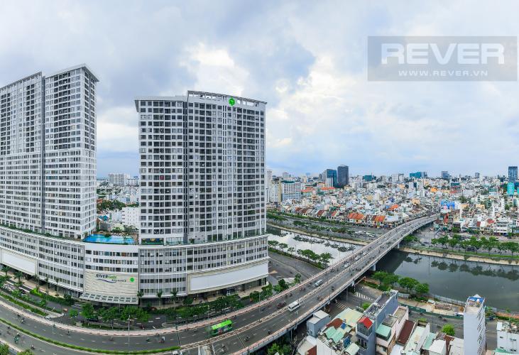View Bán căn hộ Masteri Millennium tầng cao, 2PN, liền kề trung tâm Quận 1