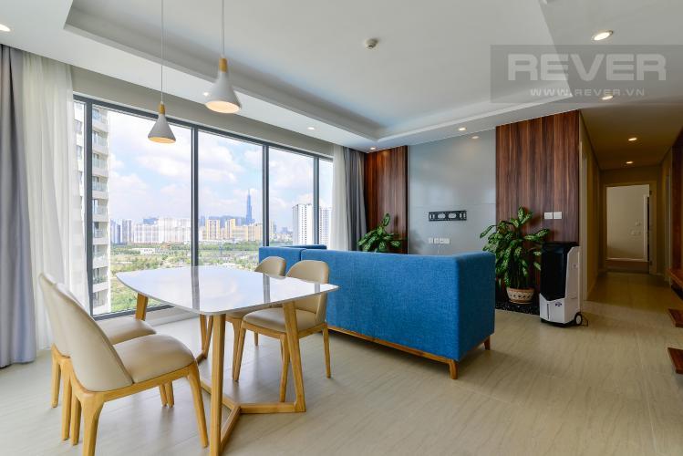 Bán căn hộ Diamond Island - Đảo Kim Cương 3 phòng ngủ, đầy đủ nội thất, view sông mát mẻ