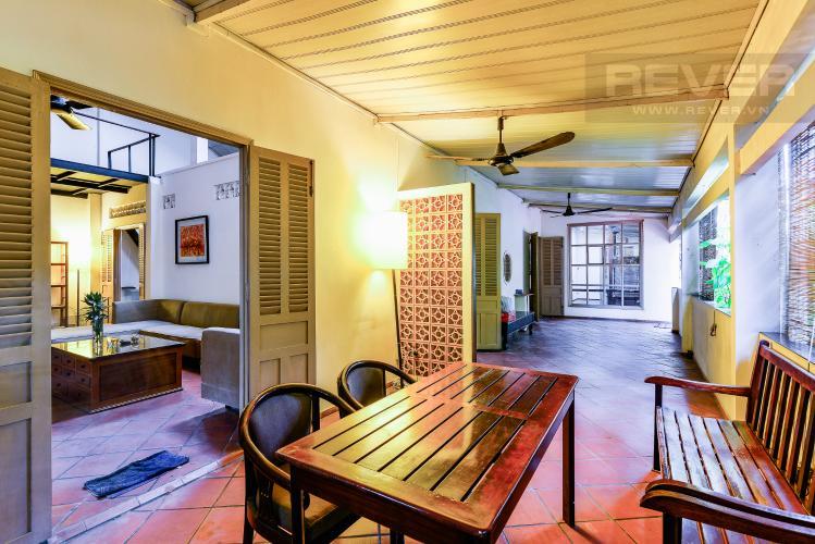 Phòng Thư Giản Nhà phố 4 phòng ngủ hẻm đường Nguyễn Văn Đậu nội thất đầy đủ