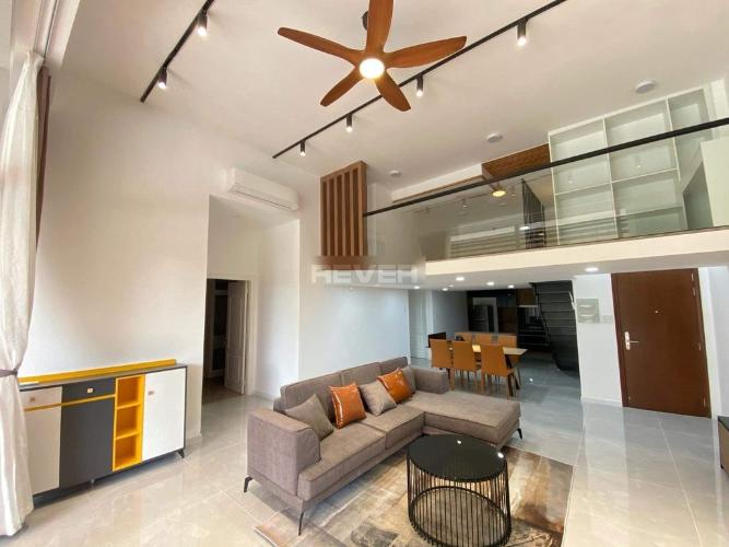 Căn hộ penthouse chung cư The Art đầy đủ nội thất.