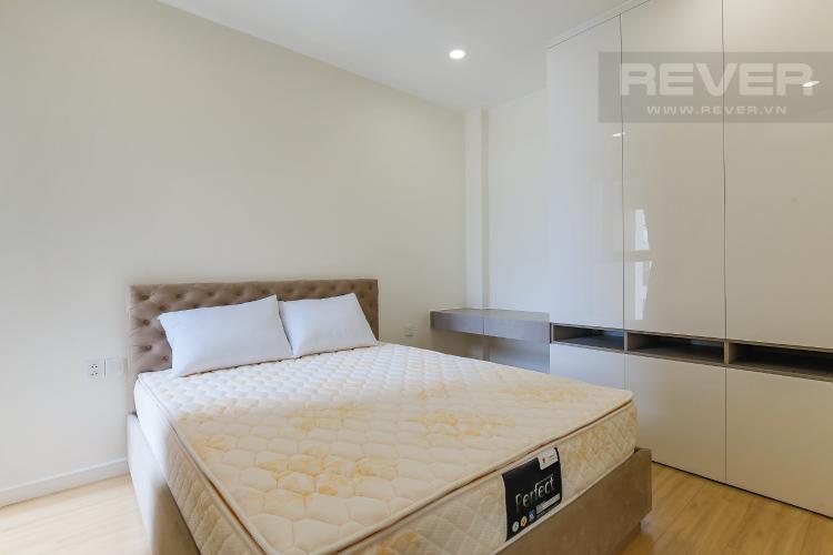 Phòng Ngủ 1 Cho thuê căn hộ Masteri Millennium tầng cao, 2PN, đầy đủ nội thất, view sông