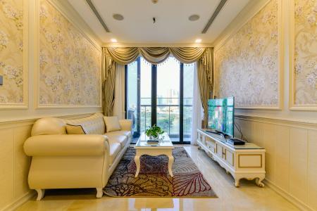 Bán căn hộ Vinhomes Golden River 1 phòng ngủ, tầng thấp, đầy đủ nội thất sang trọng, view trực diện sông thoáng mát