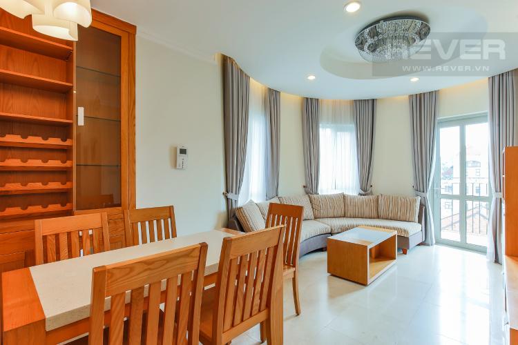 Phòng Khách Căn hộ Saigon Pavillon 3 phòng ngủ tầng thấp đầy đủ nội thất