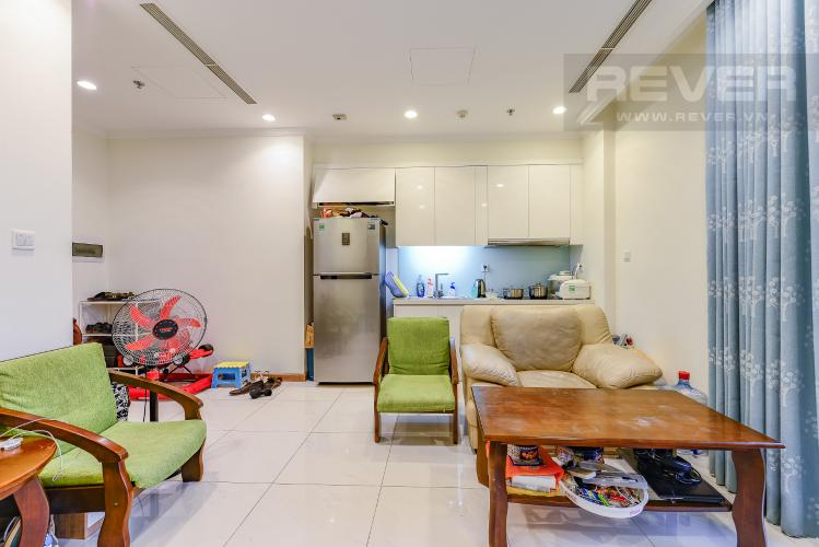Phòng khách Officetel Vinhomes Central Park 1 phòng ngủ tầng trung C3 hướng Tây