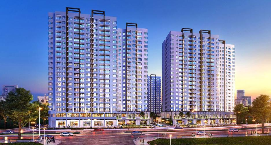 Chung cư  Akari City, Bình Tân Căn hộ chung cư Akari City ban công hướng Nam, view đón gió mát.