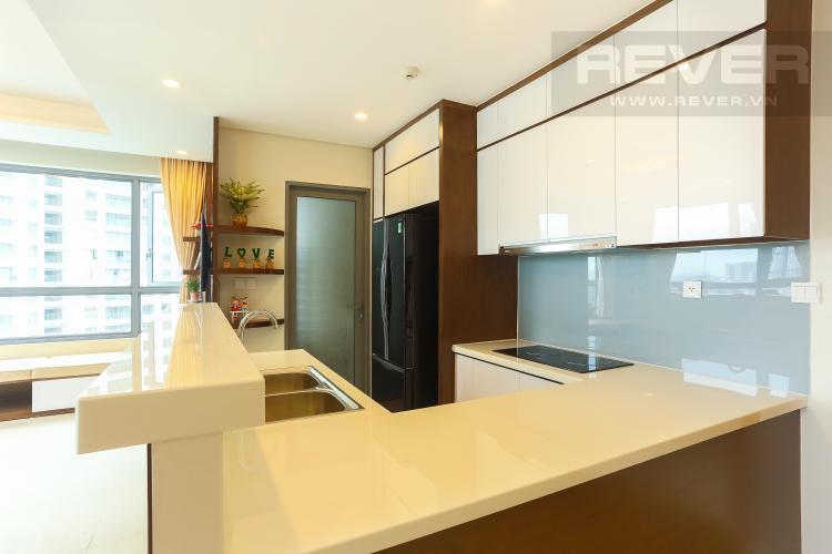 Khu Vực Bếp Căn hộ Diamond Island - Đảo Kim Cương 2PN đầy đủ nội thất