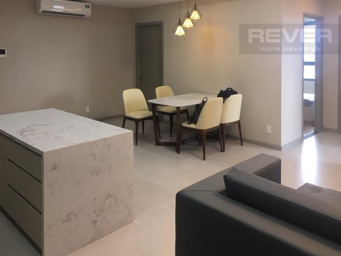 Phòng Khách Bán căn hộ The Gold View 3PN, tầng cao, diện tích 116m2, đầy đủ nội thất