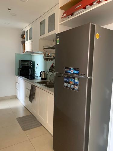Phòng bếp căn hộ MASTERI THẢO ĐIỀN Cho thuê căn hộ Masteri Thảo Điền 2PN, diện tích 70m2, đầy đủ nội thất, view sông thoáng mát