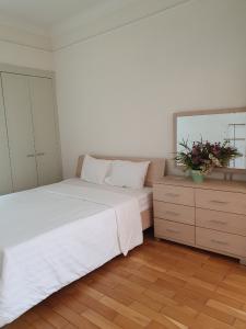 Căn hộ The Manor 1 phòng ngủ, nội thất đầy đủ.