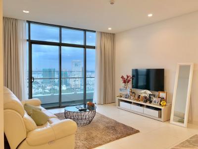 Cho thuê căn hộ City Garden 2 phòng ngủ, tầng cao, diện tích 109m2, view thành phố
