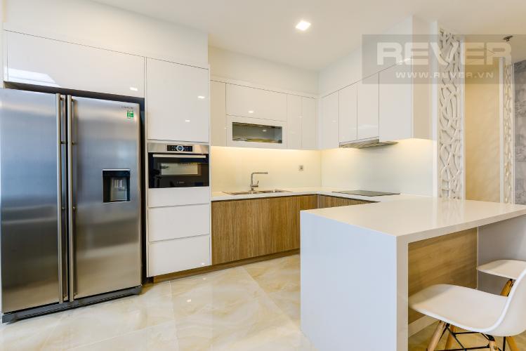 Bếp Cho thuê căn hộ Vinhomes Golden River tầng thấp, 3PN, đầy đủ nội thất