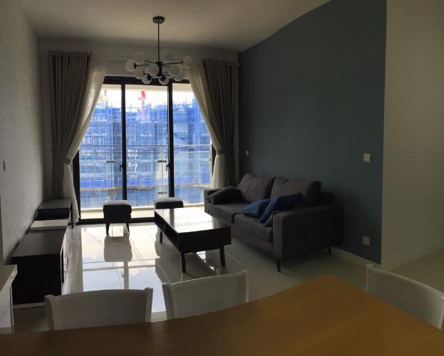 Phòng khách căn hộ Estella Heights Căn hộ Estella Heights ban công hướng Đông Nam, view nội khu.