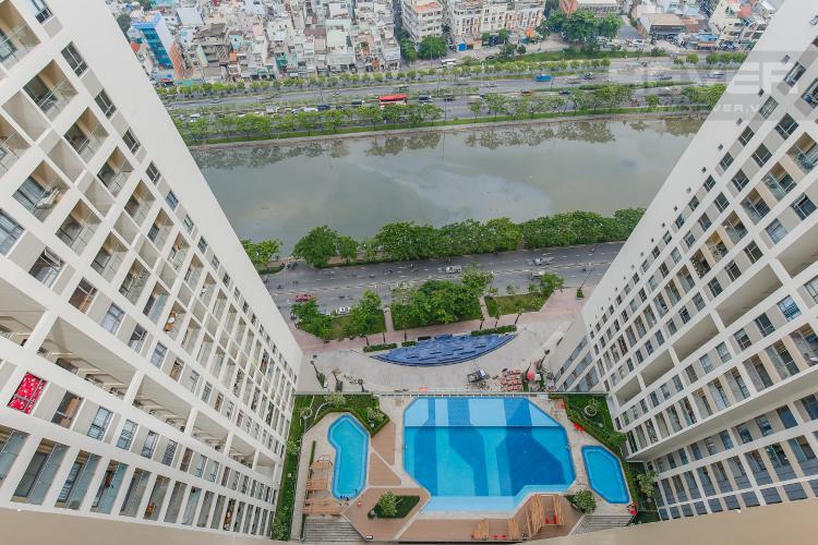 View Căn hộ The Gold View 2 phòng ngủ tầng cao A2 view hồ bơi