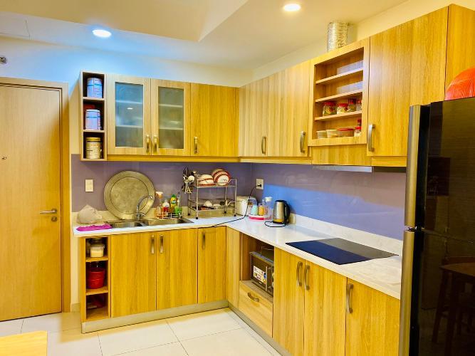 Phòng bếp M-One Nam Sài Gòn, Quận 7 Căn hộ M-One Nam Sài Gòn tầng trung, view thành phố sầm uất.