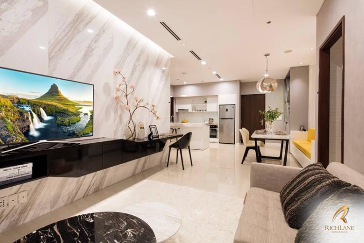 Bán căn hộ One Verandah nội thất cơ bản, view sông thoáng mát