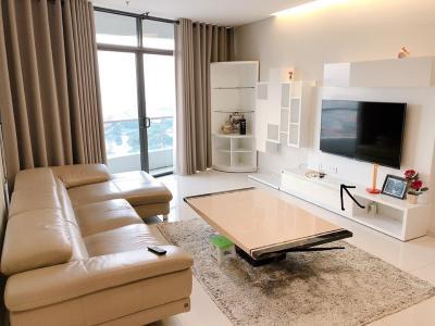 Bán căn hộ City Garden 2 phòng ngủ, tầng 18, diện tích lớn, đầy đủ nội thất