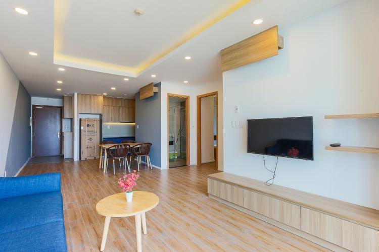 Căn hộ The Gold View 2 phòng ngủ tầng trung tháp B thiết kế thông thoáng