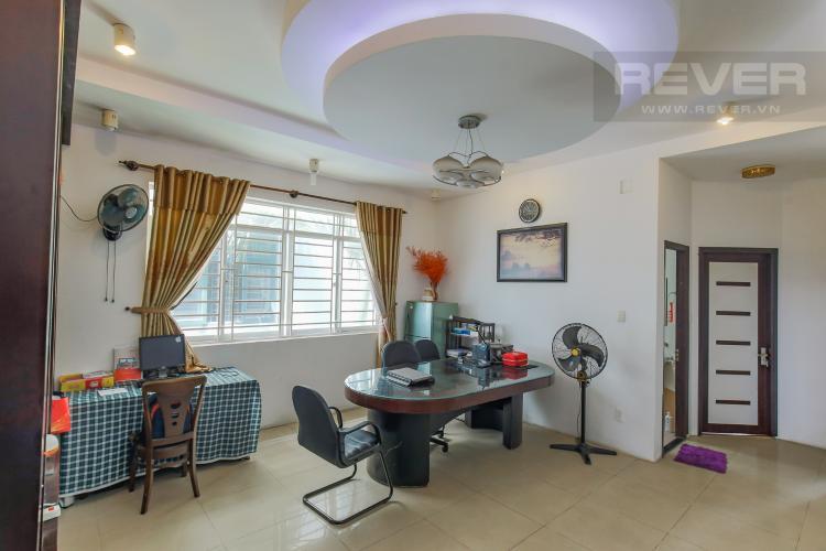 Tầng 2 Cho thuê nhà phố KDC Khang An - Phú Hữu Q.9, 3 tầng, 5 phòng ngủ, đầy đủ nội thất, diện tích 168m2