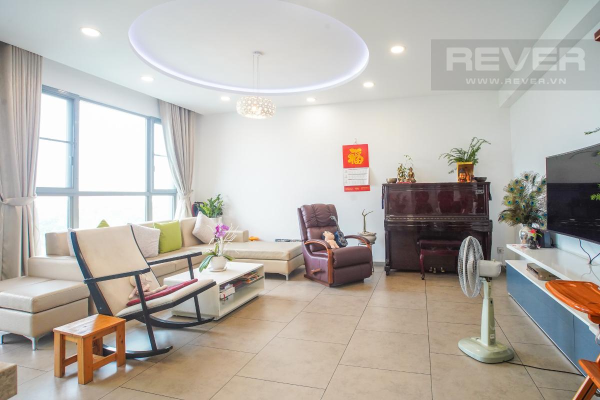 Phòng Khách Bán căn hộ Riviera Point 3PN, diện tích 146m2, đầy đủ nội thất, hướng Đông Bắc, view thoáng mát