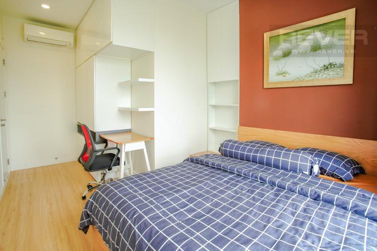 Phòng Ngủ 1 Cho thuê căn hộ Masteri Millennium 2PN, block A, đầy đủ nội thất, view sông, Bitexco và Landmark 81