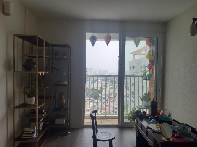 Căn hộ Tara Residence tầng trung, nội thất đầy đủ.