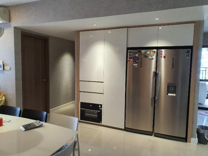 Nội thất căn hộ Icon 56 Căn hộ chung cư Icon 56 view thành phố cực thoáng, đầy đủ tiện nghi.