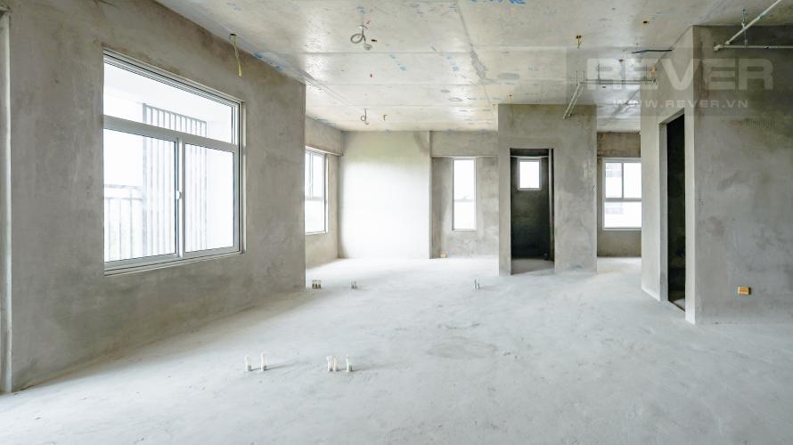 Không Gian Phòng Khách Bán căn hộ Sunrise Riverside, tầng 14, 3PN, view đẹp