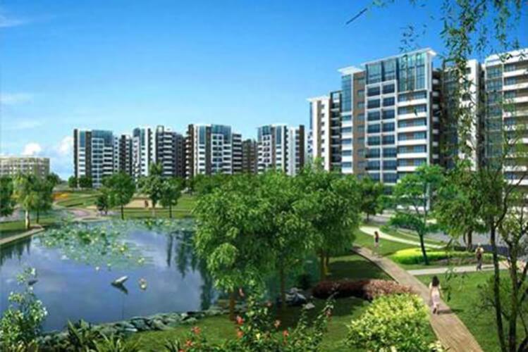 Celadon City, Tân Phú Căn hộ Celadon City tầng trung, ban công thoáng mát rộng rãi.