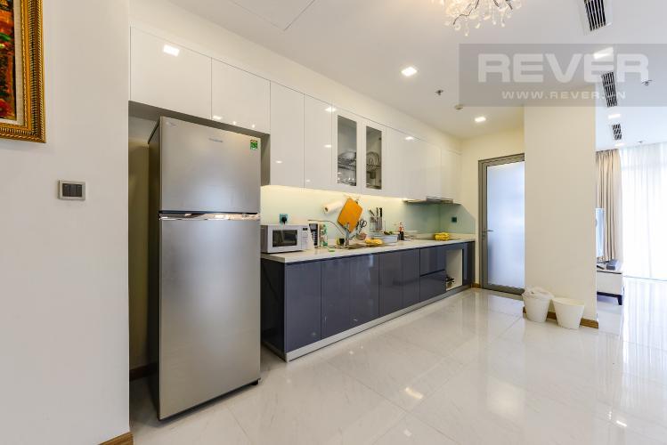 Bếp Căn hộ Vinhomes Central Park 4 phòng ngủ tầng trung P3 view trực diện sông