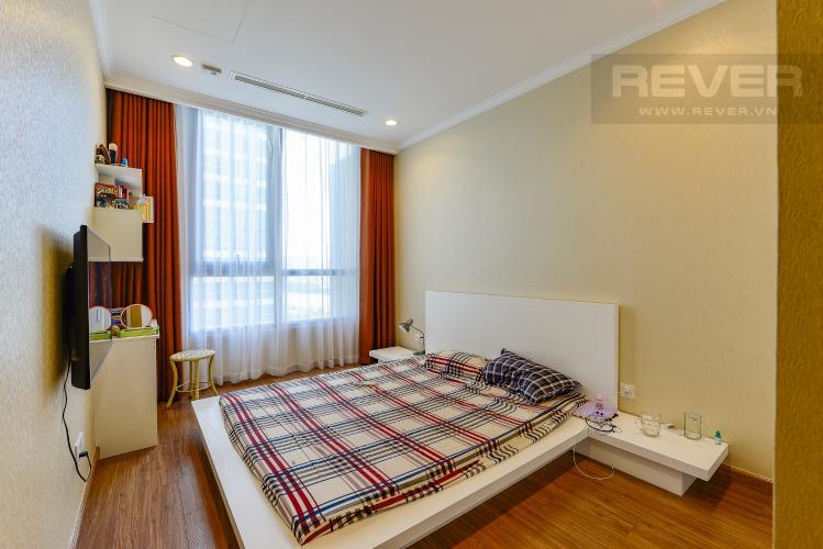 phòng ngủ 1 Căn hộ Vinhomes Central Park tầng trung C1 thiết kế đẹp, sang trọng