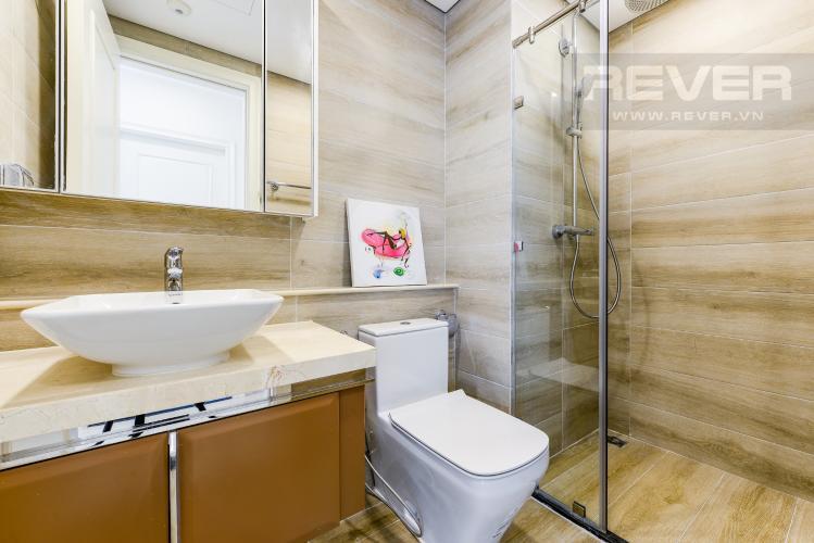 Phòng tắm 2 Cho thuê căn hộ Vinhomes Golden River tầng cao, 2PN đầy đủ nội thất, view sông thoáng đãng