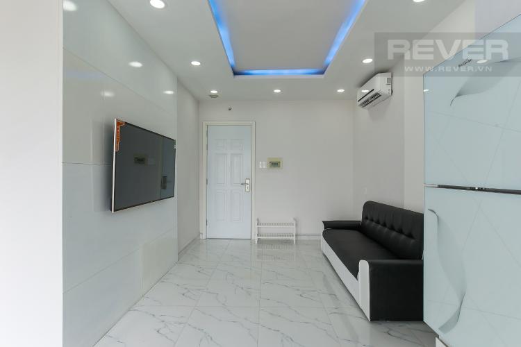 Phòng Khách Căn hộ dịch vụ 1 phòng ngủ đường Trần Quang Diệu đầy đủ tiện nghi
