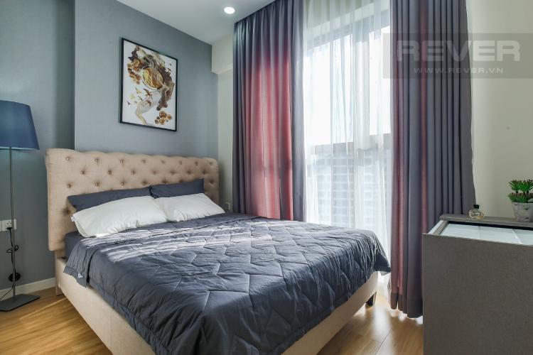 Phòng Ngủ 2 Cho thuê căn hộ Masteri Millennium Quận 4 tầng cao, 2PN, đầy đủ nội thất