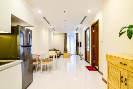 Căn hộ Vinhomes Central Park 1 phòng ngủ tầng cao L5 đầy đủ nội thất