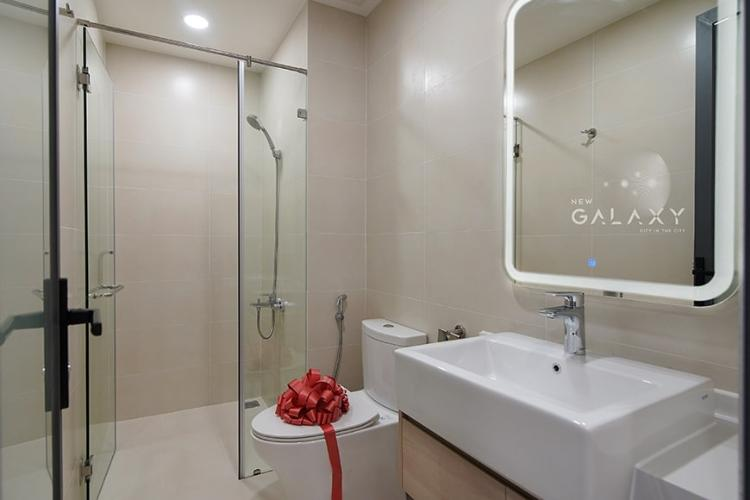 Nhà mẫu căn hộ New Galaxy Căn hộ New Galaxy tầng 16 ban công hướng Đông Bắc đón gió mát mẻ