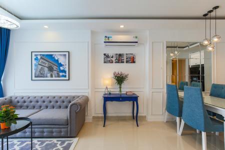 Căn hộ Sky Center 2 phòng ngủ tầng cao B3 nội thất đầy đủ