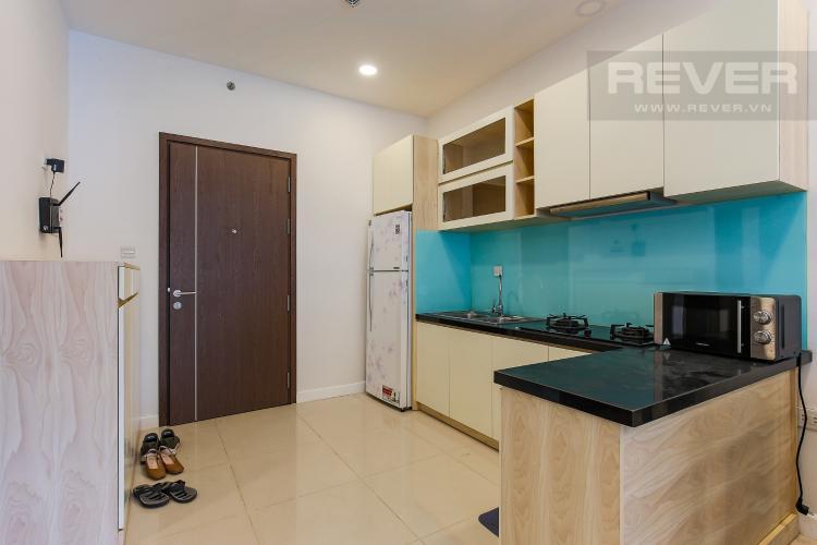 Phòng Bếp Căn hộ ICON 56 tầng thấp 1 phòng ngủ đầy đủ nội thất