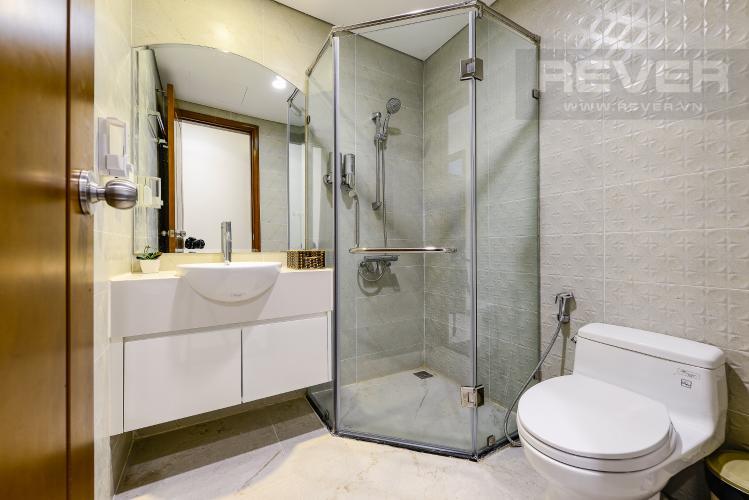 Phòng tắm 2 Căn hộ Vinhomes Central Park tầng thấp Landmark 5, view sông