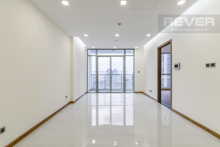 Phòng Khách Officetel Vinhomes Central Park 2 phòng ngủ tầng cao Park 7