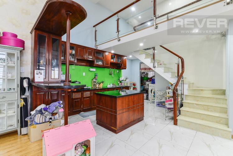 Nhà Bếp Căn hộ Phú Hoàng Anh tầng cao 4 phòng ngủ đầy đủ nội thất