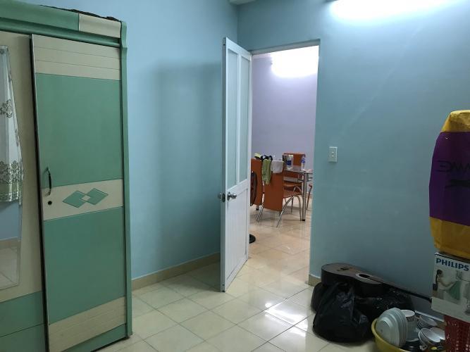 Phòng ngủ căn hộ chung cư 479A Bến Phú Lâm, Quận 6 Căn hộ chung cư 479A Bến Phú Lâm nội thất cơ bản, thiết kế kỹ lưỡng.