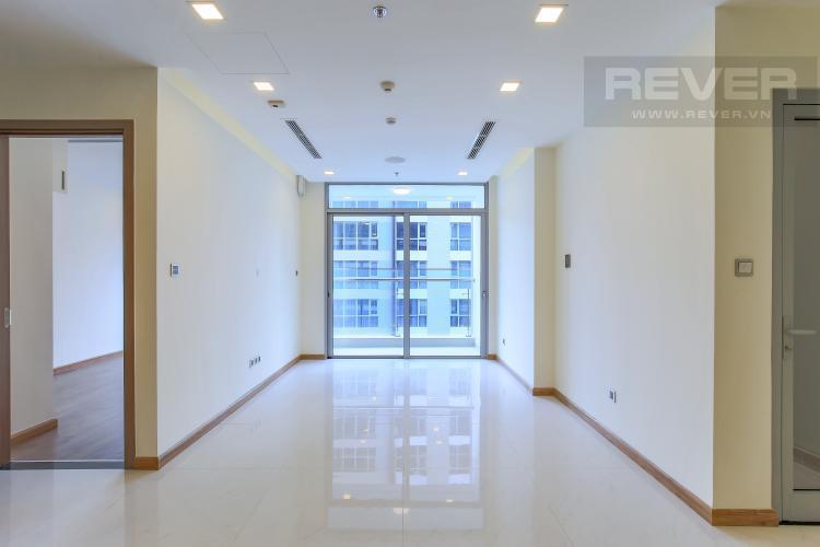Phòng Khách Căn hộ Vinhomes Central Park tầng cao, tháp Park 6, 2PN, nội thất cơ bản