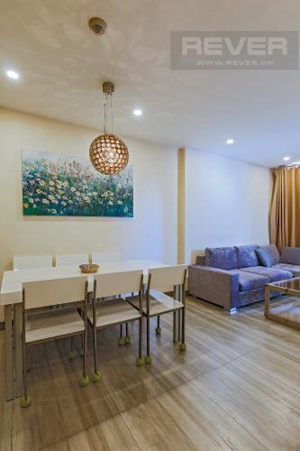 Bàn Ăn Bán căn hộ Icon 56 2PN, diện tích 79m2, đầy đủ nội thất