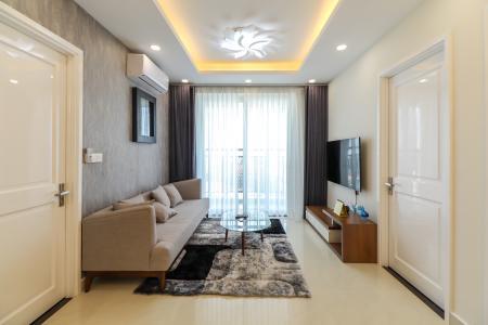 Cho thuê căn hộ Saigon Mia 3PN, tầng trung, đầy đủ nội thất, ban công hướng Đông, view thoáng