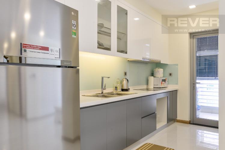 Nhà bếp Căn hộ Vinhomes Central Park 2 phòng ngủ, tầng trung P2, nội thất đầy đủ