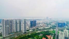 Toàn cảnh công trường dự án Sunshine City Sài Gòn nhìn từ trên cao