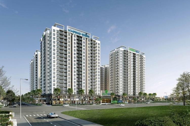 Dự án Lovera Vista Bình Chánh Căn hộ tầng trung Lovera Vista nội thất cơ bản chủ đầu tư